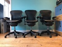 """Aeron Fully Loaded """"B"""" Office Chairs"""