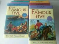 Famous five set of books
