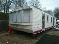 Static caravan 32x12 off site