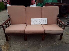 3 seater conservatory settee.