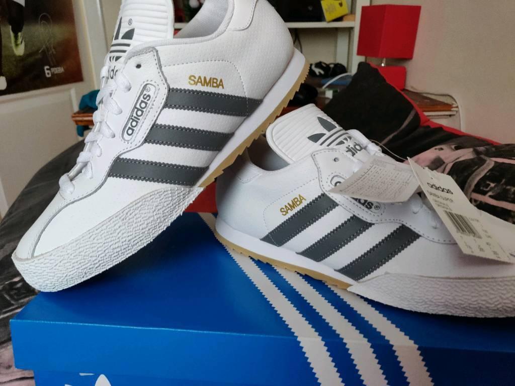White leather adidas samba  92ba405c7