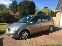 2009 58 reg Renault Grand Scenic dynamique. 7 seater. Very low miles