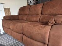 Harvey's Bel Air Electric recliner 3 seater sofa