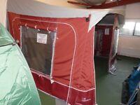 Awaydaze Caledonian Lux 850cm Full Acrylic Caravan Awning