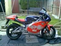 Aprilia rs 125 1999 mot till july