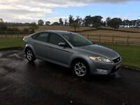 Aug 2008 Ford Mondeo Zetec TDCI 140, SILVER METALLIC, Diesel Manual, front & rear parking sensors