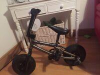 Mini. Bike like new used twice paid £150 selling £100