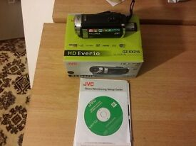 JVC HD Everio GZ-EX215 HD Memory Camcorder