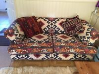 Large sofa Lewes