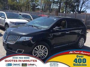 2013 Lincoln MKX AWD | ROOF | LEATHER | NAV | HEATED SEATS