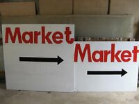 Market signs - large.