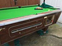 Pub pool table for sale