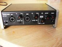 Tascam US-2x2 Usb Audio Midi Interface