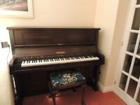 Crowley upright overstrung piano