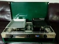 Parker 2 burner with grill camping stove