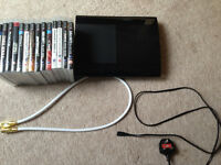 500GB PS3 Super Slim Console with leads and 14 games all in good condition