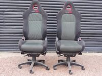 Honda Civic Type R Seats - Office / Gamesroom - Pair x 2