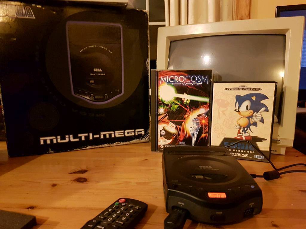 SEGA Multi Mega Console Plus Games