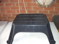 caravan / motorhome step stool