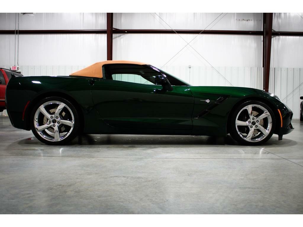 2014 Green Chevrolet Corvette Convertible 3LT | C7 Corvette Photo 5