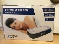 Air bed (single) with built in pump