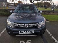 2017 66 Plate Dacia Duster 1.2 TCe 125 Laureate 5 Door 1000 Miles Start/Stop Reverse Parking Sensors