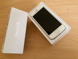 I PHONE 5S SILVER 16GB ANY NETWORK £75