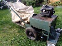 187cc, wheeled, self propelled, vintage leaf vac