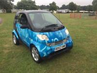 Smart car pulse 2002 genuine 30k since new perfect looked after example