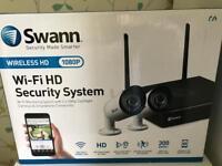 BRAND NEW SEALED SWANN WIRELESS 1080p Full HD CCTV SYSTEM