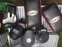 Focus Kickboxing Pads, Mitts and Gloves