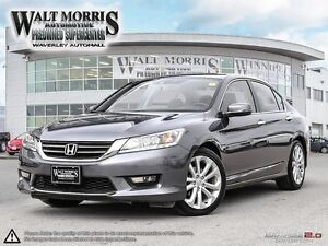 2014 Honda Accord Touring - LEATHER, NAV, HEATED SEATS, REAR VIE