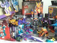 Vintage G1 1980s Transformers Job Lot
