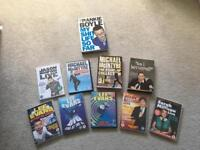 Large Comedy Bundle Perfect Christmas Gift DVD's & Book Stand Up Comedy Humor