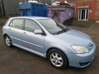 2006 TOYOTA COROLLA 1.6 VVTI COLOUR COLLECTION 5 DOOR HATCHBACK BLUE