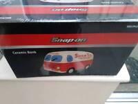 Snap on truck money box