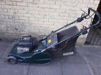 Harrier lawnmower