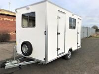 Brand New Catering Trailer/Mobile Kitchen - with Toilet & Shower