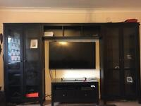 Ikea hemnes display and tv cabinet very good condition RRP 800
