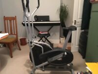 Exercise bike and small desk for collection, no cost
