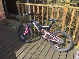 Silverfox girls bike