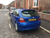 MG ZR 52 Plate Blue 1.4 Petrol