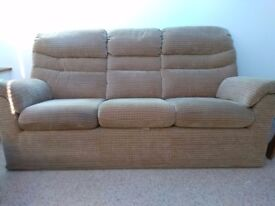 Sofa and Arm Chair set in perfect condition