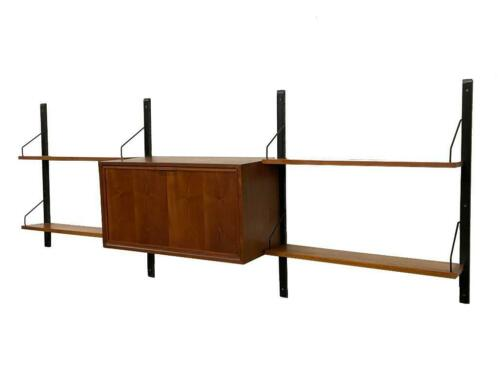 Vintage Poul Cadovius Royal System wandsysteem wall unit 078