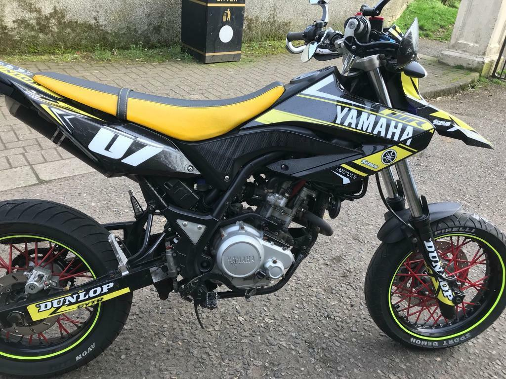 yamaha wr 125 2011 in dumbarton west dunbartonshire. Black Bedroom Furniture Sets. Home Design Ideas