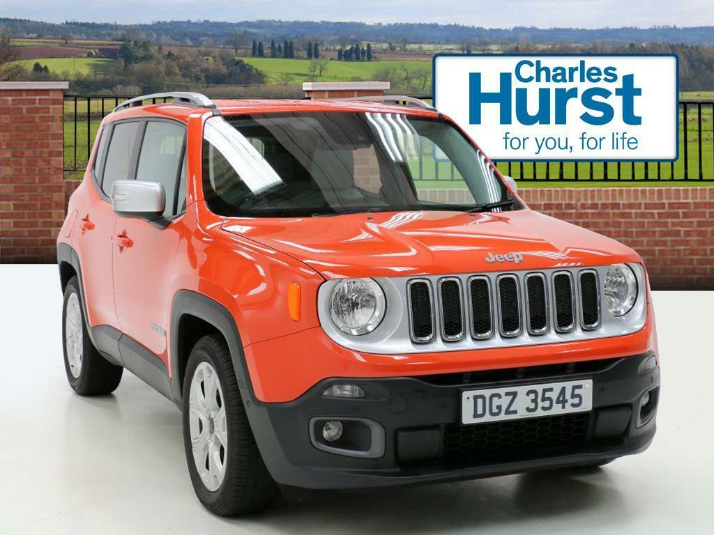 jeep renegade limited orange 2016 09 14 in county antrim gumtree. Black Bedroom Furniture Sets. Home Design Ideas