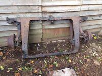 Classic Mini rear subframe complete £120 ono