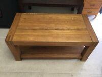 oak coffee table small table oak table