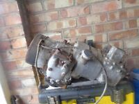 1951 Velocette LE 150cc complete engine/ gearbox for spares or repair.