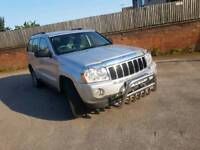 JEEP GRAND CHEROKE LTD A 2006 3.0 CRD DIESEL AUTO WITH 12 MINUTES MOT AND F S H